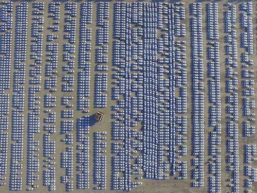 Cảnh quan hùng vĩ của Trung Quốc qua những bức ảnh tuyệt đẹp chụp từ trên cao - Ảnh 11