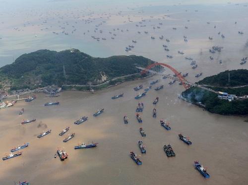 Cảnh quan hùng vĩ của Trung Quốc qua những bức ảnh tuyệt đẹp chụp từ trên cao - Ảnh 16