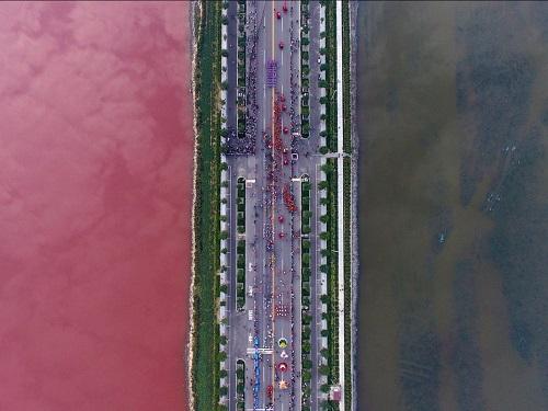 Cảnh quan hùng vĩ của Trung Quốc qua những bức ảnh tuyệt đẹp chụp từ trên cao - Ảnh 7