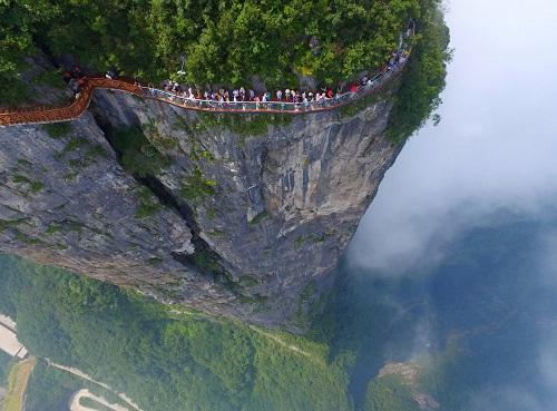 Cảnh quan hùng vĩ của Trung Quốc qua những bức ảnh tuyệt đẹp chụp từ trên cao - Ảnh 8