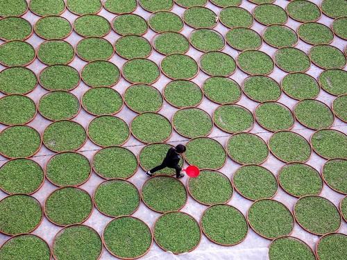 Cảnh quan hùng vĩ của Trung Quốc qua những bức ảnh tuyệt đẹp chụp từ trên cao - Ảnh 9