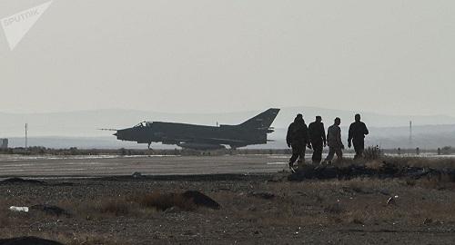 Căn cứ quân sự lớn nhất Syria bị tấn công bằng tên lửa - Ảnh 1