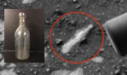 Xôn xao việc phát hiện vỏ chai cổ trên bề mặt sao Hỏa - Ảnh 1