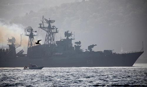 Vì sao Nga điều đội tàu lớn chưa từng có đến gần Syria? - Ảnh 2