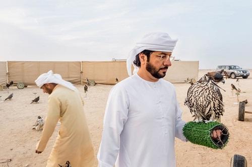 Huấn luyện chim ưng: Nghề kiếm ra hàng triệu USD ở Trung Đông - Ảnh 9