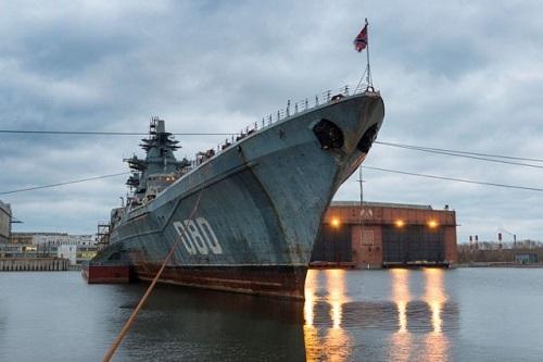 Nga chuẩn bị thử nghiệm 'siêu pháo đài nổi' từ thời Liên Xô sau khi nâng cấp - Ảnh 1