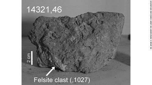 Hòn đá lâu đời nhất Trái Đất được tìm thấy trên Mặt Trăng - Ảnh 1