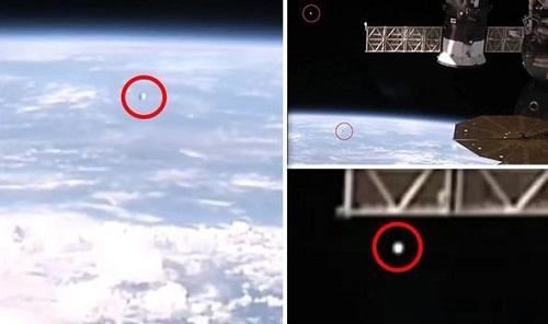 Livestream trên trạm vũ trụ quốc tế của NASA lộ hình ảnh nhiều UFO tiến về Trái Đất - Ảnh 1