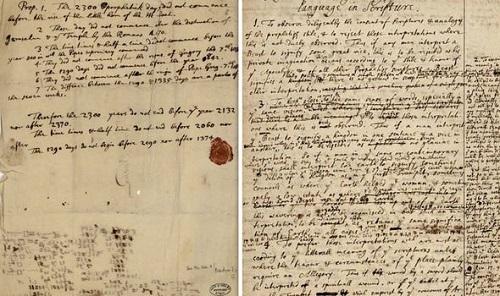 Bức thư bị mất của Isaac Newton tiết lộ dự đoán gây sốc về Ngày tận thế? - Ảnh 2