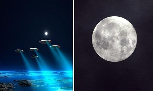NASA che giấu sự thực người ngoài hành tinh đang ẩn nấp trên Mặt Trăng? - Ảnh 1