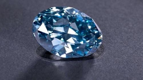 Botswana tiết lộ hình ảnh viên kim cương xanh 'hoàn hảo nhất thế giới' - Ảnh 1