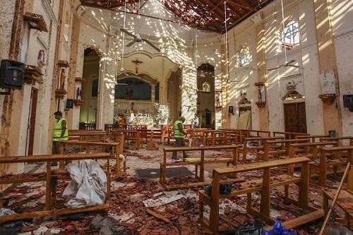 790 người thương vong trong 8 vụ đánh bom liên hoàn ở Sri Lanka - Ảnh 1