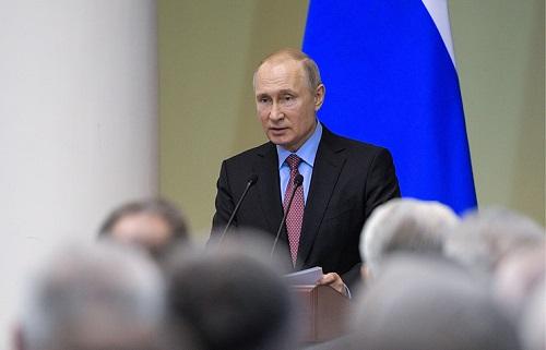 Ông Putin tuyên bố Nga sẽ sớm gia nhập top 5 nền kinh tế phát triển nhất thế giới - Ảnh 1