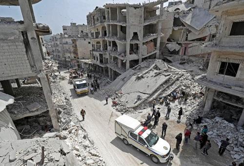 Tình hình Syria mới nhất ngày 25/4: Nổ lớn ở chảo lửa Idlib, 18 người thiệt mạng - Ảnh 1