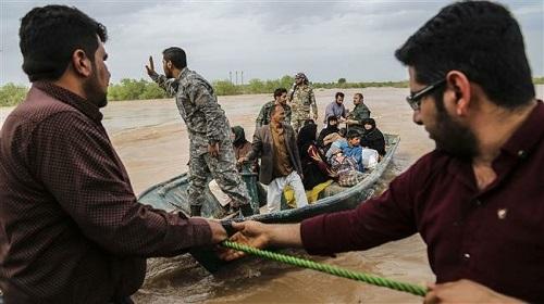 Iran oằn mình đối phó với trận lụt lịch sử làm 57 người chết - Ảnh 1