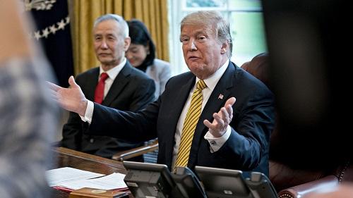 Tổng thống Trump ra hạn chót về đàm phán thương mại Mỹ-Trung  - Ảnh 1