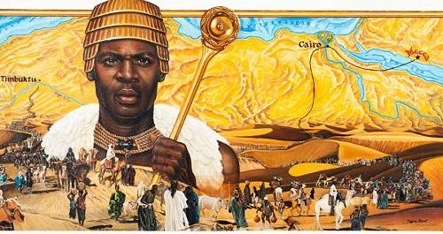 Đế chế xây bằng vàng của hoàng đế giàu nhất lịch sử thế giới - Ảnh 1