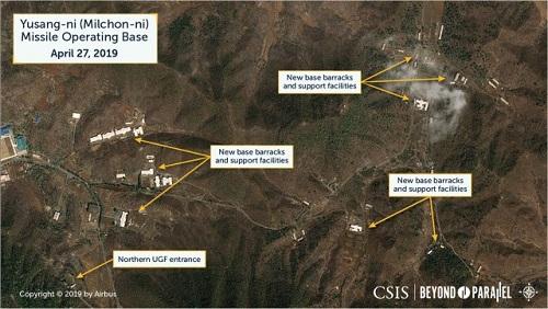 Báo Hàn: Phát hiện mới về căn cứ tên lửa bí mật cực lớn của Triều Tiên - Ảnh 1