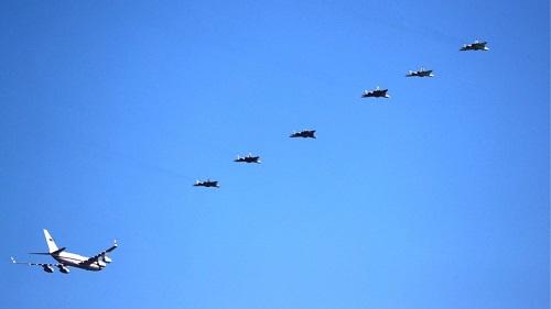 """Nga huy động 6 """"bóng ma bầu trời"""" Su-57 hộ tống chuyên cơ của ông Putin  - Ảnh 1"""