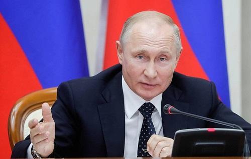 Ông Putin tuyên bố sẽ mua 76 chiếc 'bóng ma bầu trời' Su-57 cho quân đội Nga - Ảnh 1