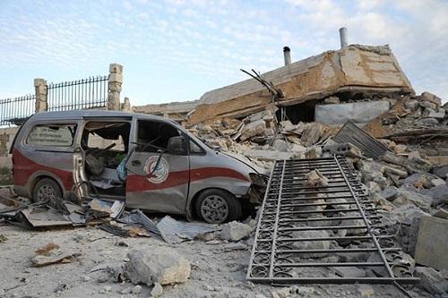 Tình hình Syria mới nhất ngày 19/5: Damascus và Nga bị cáo buộc cố ý tấn công hệ thống bệnh viện  - Ảnh 1