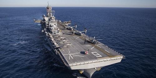 Hải quân Mỹ gửi tàu tấn công mạnh nhất đến Thái Bình Dương - Ảnh 1