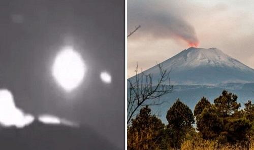 Phát hiện UFO ra vào căn cứ ngoài hành tinh trên núi lửa khổng lồ ở Mexico - Ảnh 1