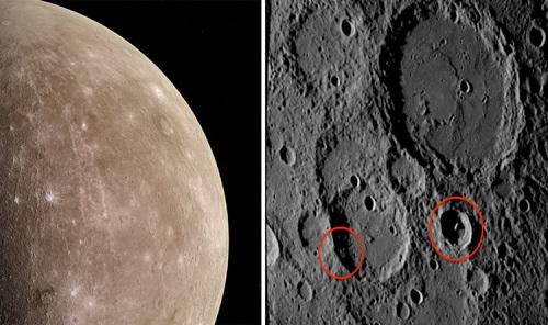 Lộ căn cứ của người ngoài hành tinh trên sao Thủy trong ảnh của NASA? - Ảnh 1
