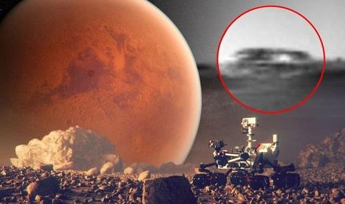 Tàu vũ trụ Curiosity của NASA phát hiện căn cứ ngoài hành tinh trên sao Hoả? - Ảnh 1