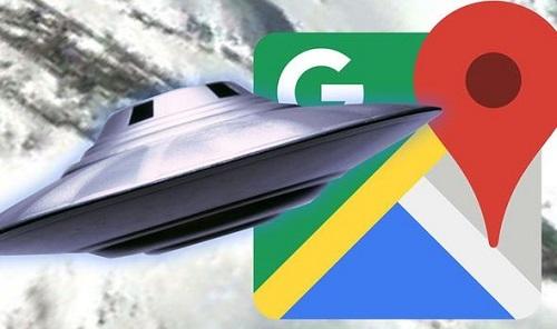 Google Maps làm lộ hình ảnh tàu vũ trụ ngoài hành tinh ở Nam Cực? - Ảnh 1