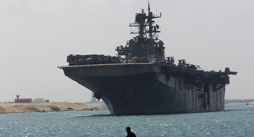 Lực lượng viễn chinh của Thủy quân lục chiến Mỹ áp sát bờ biển Iran - Ảnh 1