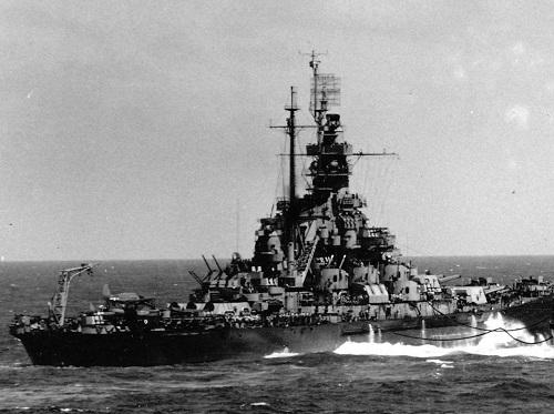 Chiến hạm huyền thoại: Sức mạnh khó tin của tàu Mỹ USS Massachusetts trong Thế chiến thứ II - Ảnh 1