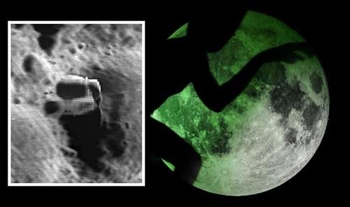 Google Moon làm lộ căn cứ của người ngoài hành tinh, NASA bị tố 'quên' chỉnh sửa ảnh? - Ảnh 1
