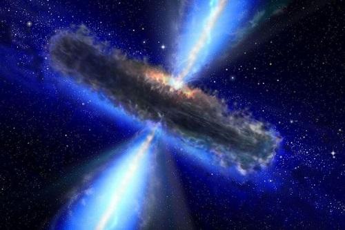 Các nhà thiên văn khám phá ra hố đen siêu lớn sẽ nuốt chửng cả vũ trụ - Ảnh 1