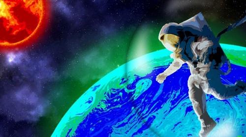 Người ngoài hành tinh phát sáng có thể biến bức xạ UV khắc nghiệt thành tuyệt đẹp - Ảnh 1