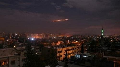 Tin tức Syria mới nóng nhất hôm nay (16/8): Phòng không Syria đánh chặn tên lửa ở Masyaf - Ảnh 1