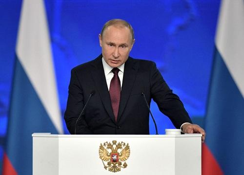 Tổng thống Putin cảnh báo Mỹ mở đường cho cuộc đua vũ trang không hạn chế - Ảnh 1