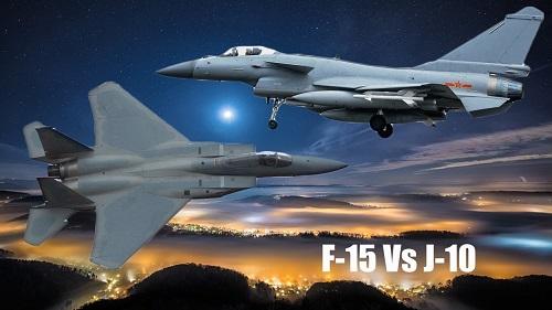 So sánh sức mạnh tiêm kích 'đại bàng' F-15 của Mỹ với J-10 của Trung Quốc - Ảnh 1