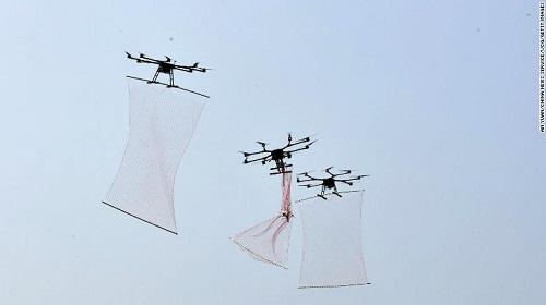 Trung Quốc khoe UAV mới có sức mạnh như Người nhện - Ảnh 1