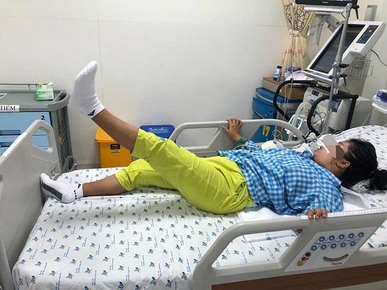 Nữ sinh bị liệt toàn thân vì mắc hội chứng Guillain Barré - Ảnh 1