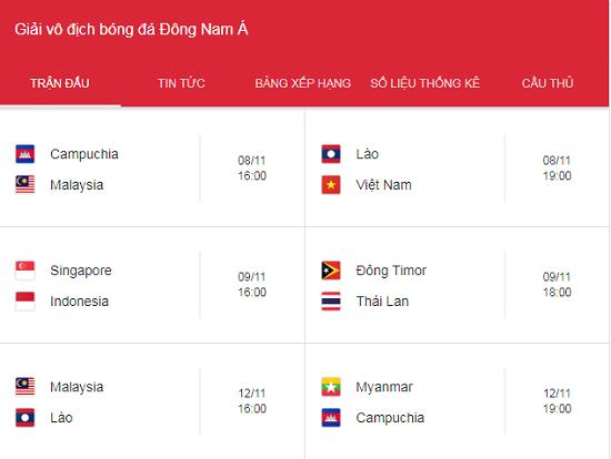 AFF Cup 2018: VTV độc quyền phát sóng tất cả các trận đấu tại Việt Nam   - Ảnh 1