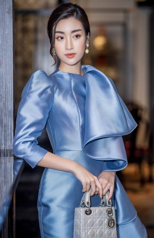 Á hậu Huyền My cực gợi cảm khi đọ dáng cùng Hoa hậu Mỹ Linh - Ảnh 5