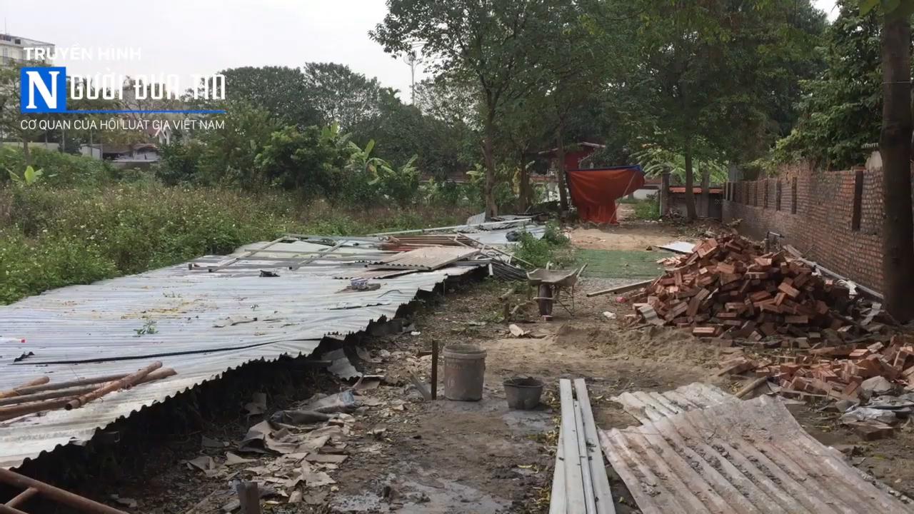 (Bài 1) Vụ huỷ hoại tài sản ở Tây Hồ, Hà Nội: Thách thức công an, đe doạ cả Phó Chủ tịch phường - Ảnh 1