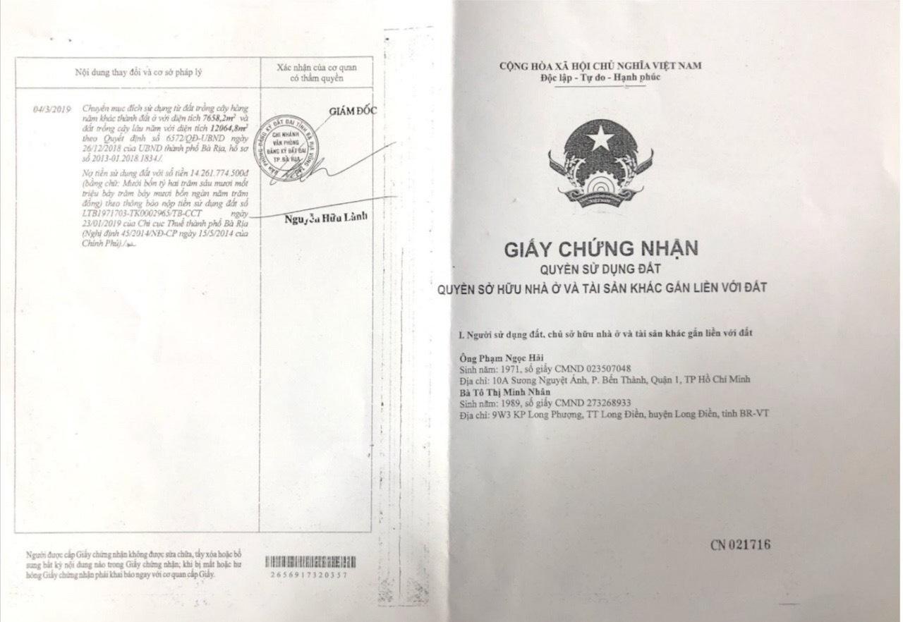 Dự án Bà Rịa Central: Phân lô bán nền bằng chiêu trò 'qua mặt' chính quyền? - Ảnh 1