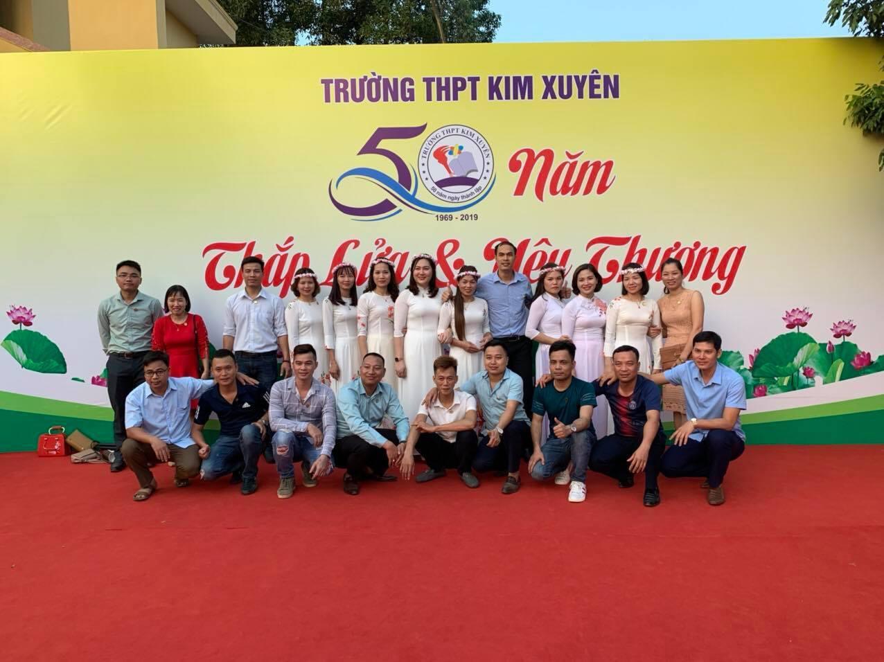 Trường THPT Kim Xuyên kỷ niệm 50 năm ngày thành lập trường - Ảnh 7