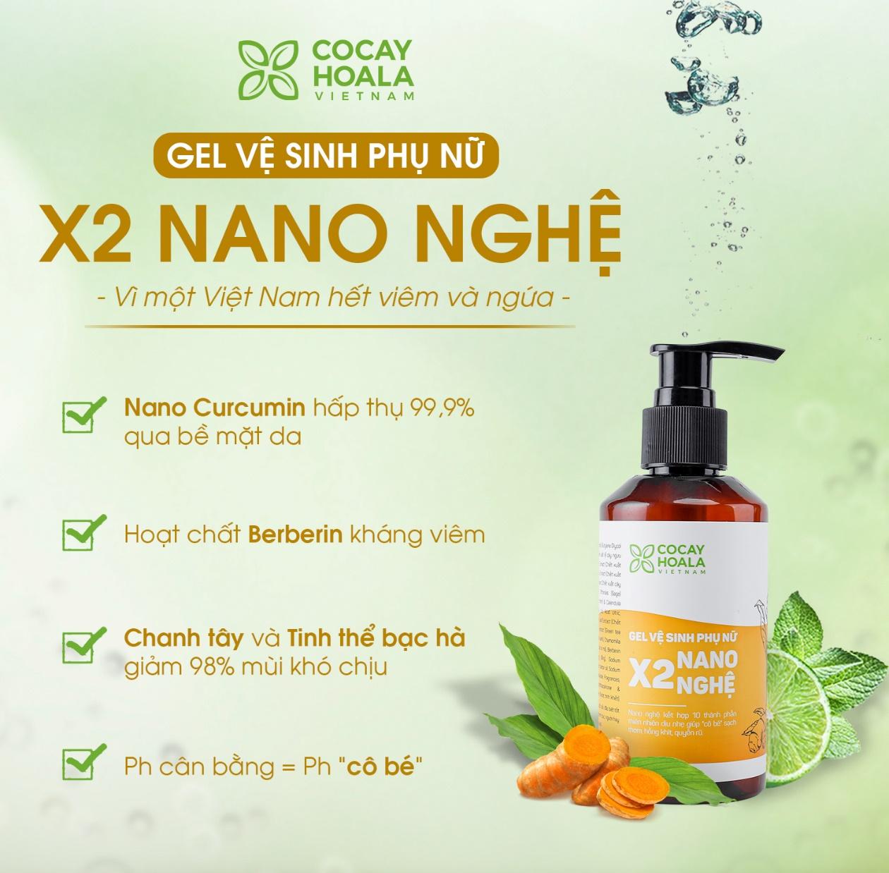Tại sao Gel vệ sinh phụ nữ X2 Nano Nghệ lại giúp trẻ hóa vùng kín, hết ngứa, hết mùi hôi? - Ảnh 4