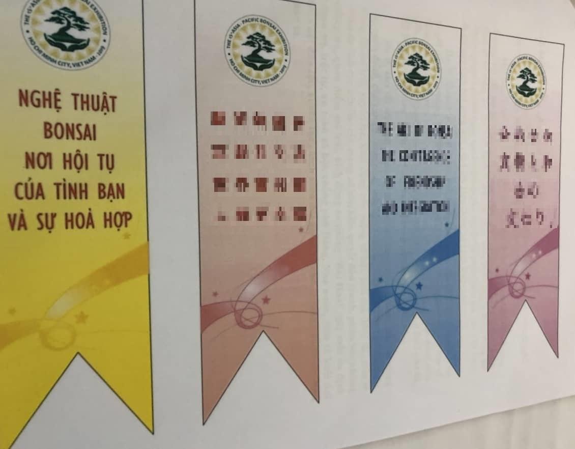 TP. HCM: Chỉ đạo việc treo băng rôn tuyên truyền Lễ hội Bonsai và Suiseki Châu Á Thái Bình Dương theo đúng quy định - Ảnh 2