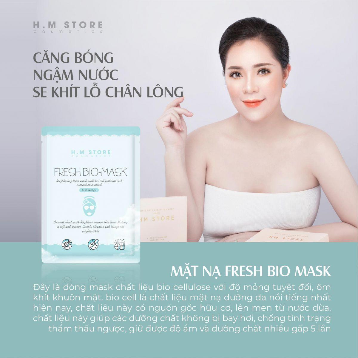 HM Store ra mắt dòng sản phẩm mặt nạ mới Sheet Mask Set - Ảnh 2