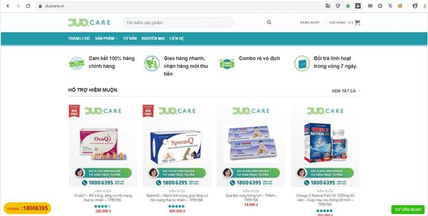 5 lý do bạn nên lựa chọn sản phẩm chăm sóc sức khỏe tại Cửa hàng Duocare - Ảnh 3