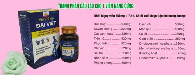 Điểm danh 3 lý do khiến viên khớp Đại Việt luôn có trong tủ thuốc của mỗi gia đình Việt - Ảnh 3